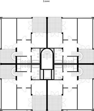 Quinto piano Residenza Leonardo