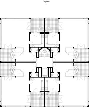 Sesto piano Residenza Leonardo