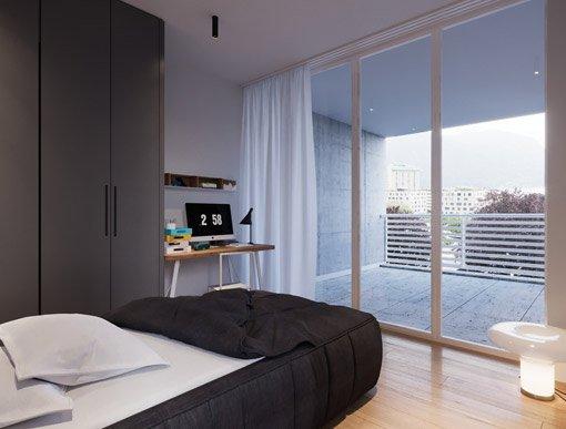 Camera da letto Residenza Leonardo